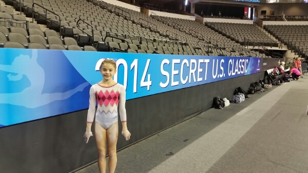 Olivia begins the US Classic competition today