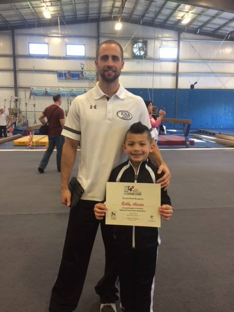 Bobby wins 9 year old future stars testing