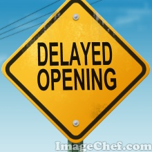 Image result for delayed opening