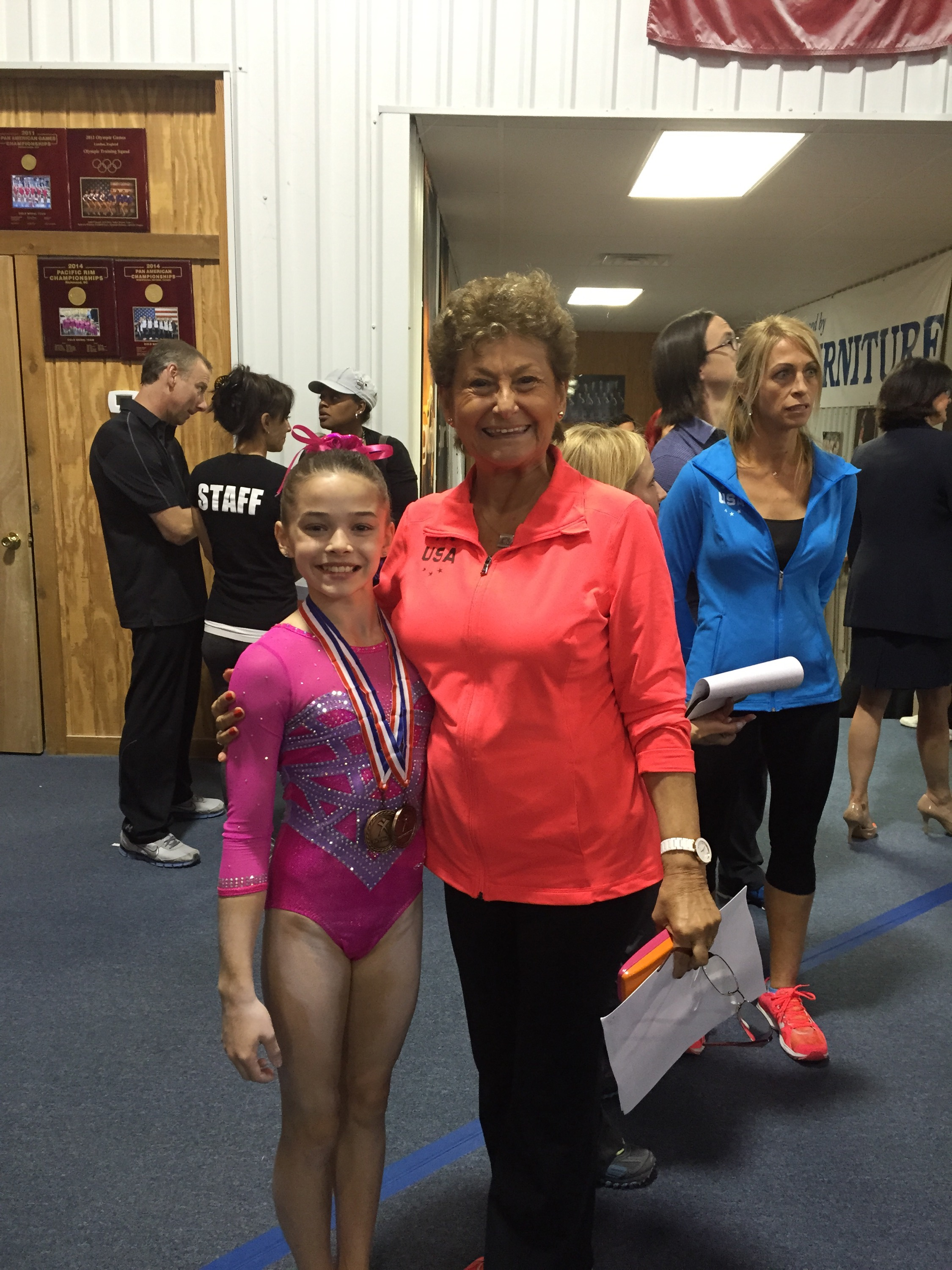 Olivia Qualifies To P Amp G National Championships Ena