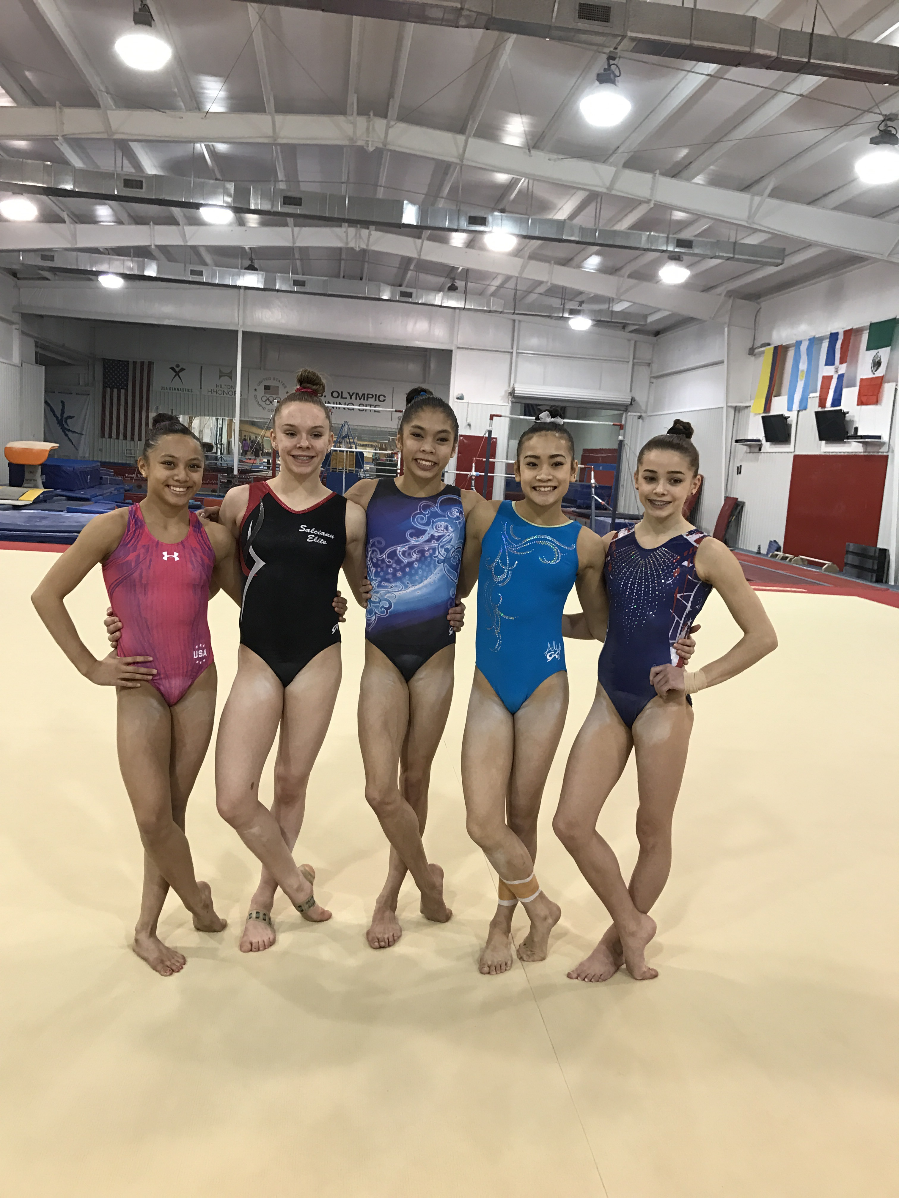 gymnastic junior USA Gymnastics named the 12-gymnast squad that will compete at the City of  Jesolo (Italy) Trophy, April 1-2. The complete team for Jesolo is as  follows.