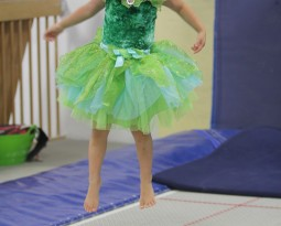 Princess and Pirates week is alot of fun at ENA Gymnastics Summer Camp