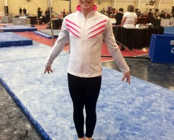 Courtney Qualifies to Level 9 Easterns