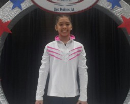 Corinne places 5th on floor at Nationals