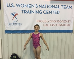 Olivia is set to compete at the American Classic