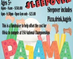 ENA Gym Sleepover – June 26th