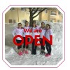 Jan 25 and we are open