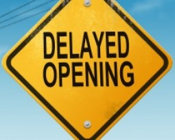 ENA will be closed until 1pm today – Delayed Opening