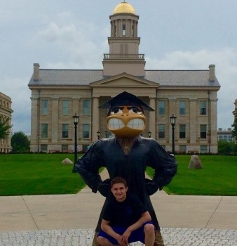Jake Brodarzon – ENA's first male gymnast to receive a college scholarship