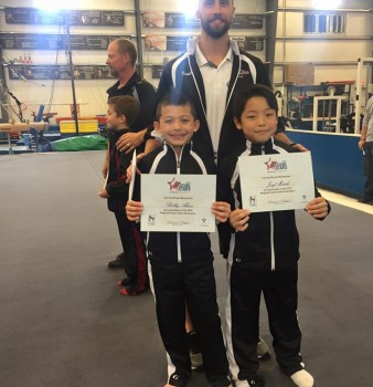 Bobby and JoJo Qualify to National Testing