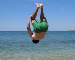 Vacation gymnastics picture contest on ENA Gymnastics FaceBook